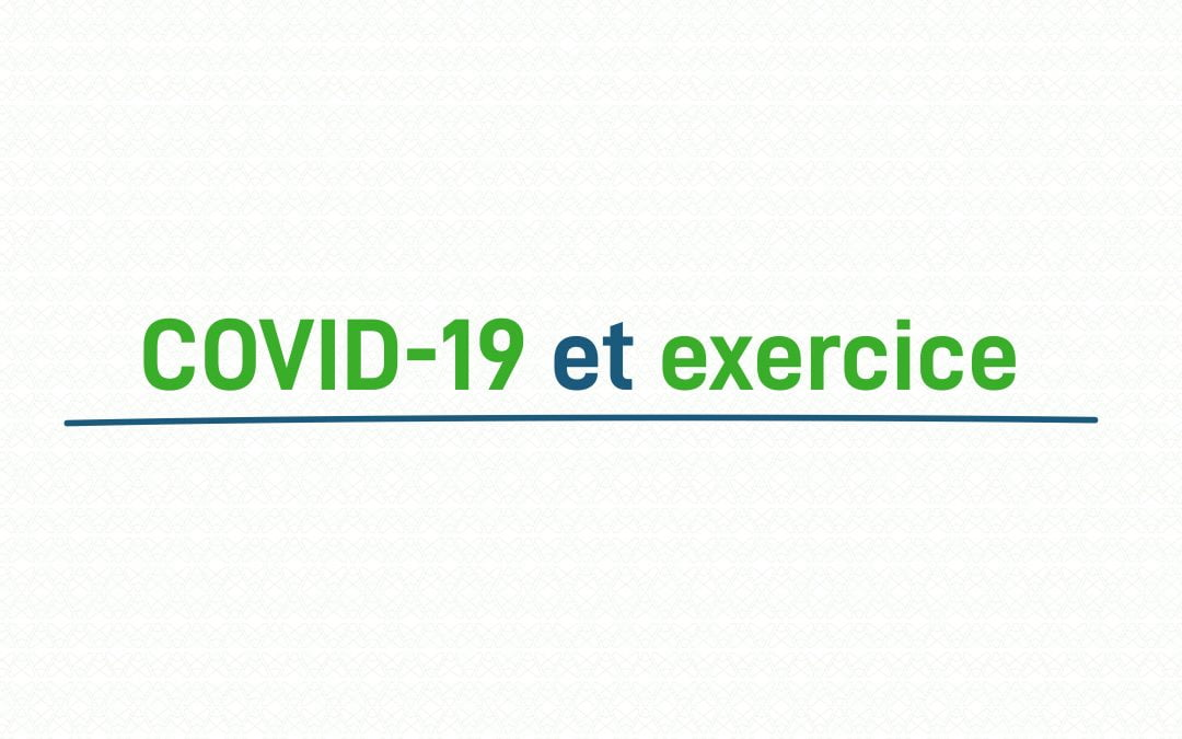 Actiforme - article - covid-19 et exercice