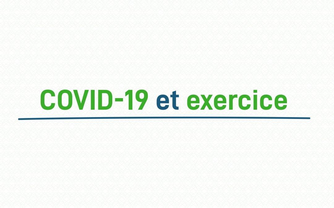 Bouger pour vaincre la douleur : COVID-19 et exercice