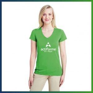 Actiforme - T-shirt vert (manches courtes)