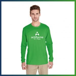 Actiforme - T-shirt vert (manches longues)